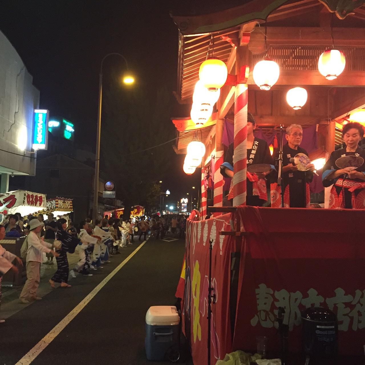 第27回恵那まちなか市・恵那納涼夏祭り盆踊りの夕べ2017